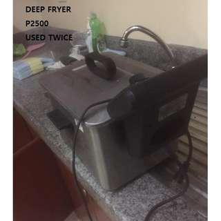 Industrial fryer super rush sale from 5,000