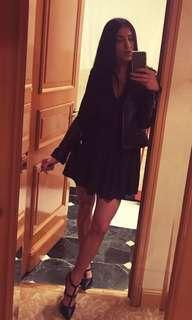 Wilfred xxs black dress
