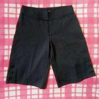 Stripe Navy Blue Short