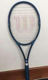 Wilson Tennis Racket Aggressor High Beam Series 95 Blue