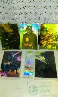 Vintage Star Wars Collectible Post Card Set.