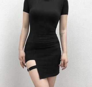 Trendy Black Dress