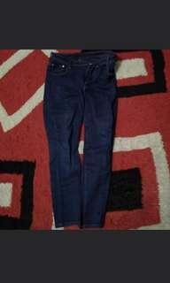 Chanel jeans baca caption