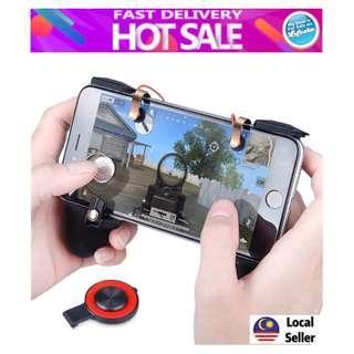 MV 3in1 PUBG Mobile Game Controller Trigger Handle Joysticks