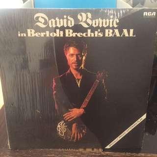 David Bowie In Bertolt Brecht's Baal Vinyl