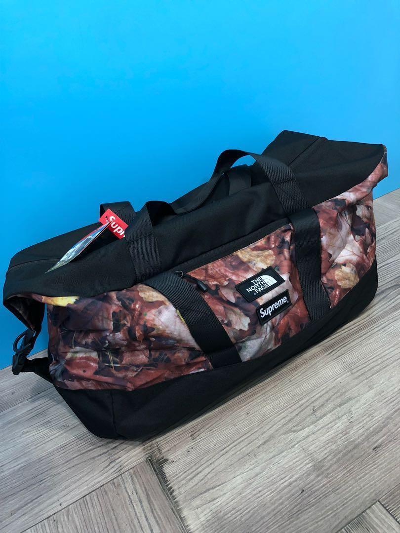 d3c3d02f9 🔴 Supreme The North Face Apex Duffle Bag Leaves ( HK AAA ) on Carousell