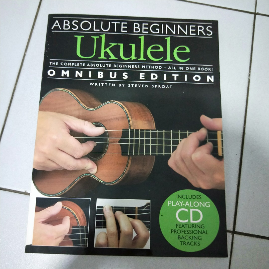 Absolute Beginners Ukulele includes Play Along CD