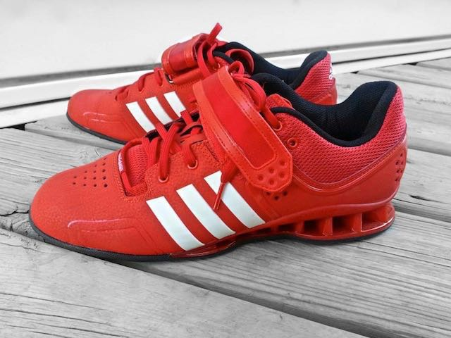 f66f65df10a730 Adidas AdiPower Weightlifting shoes (Red)