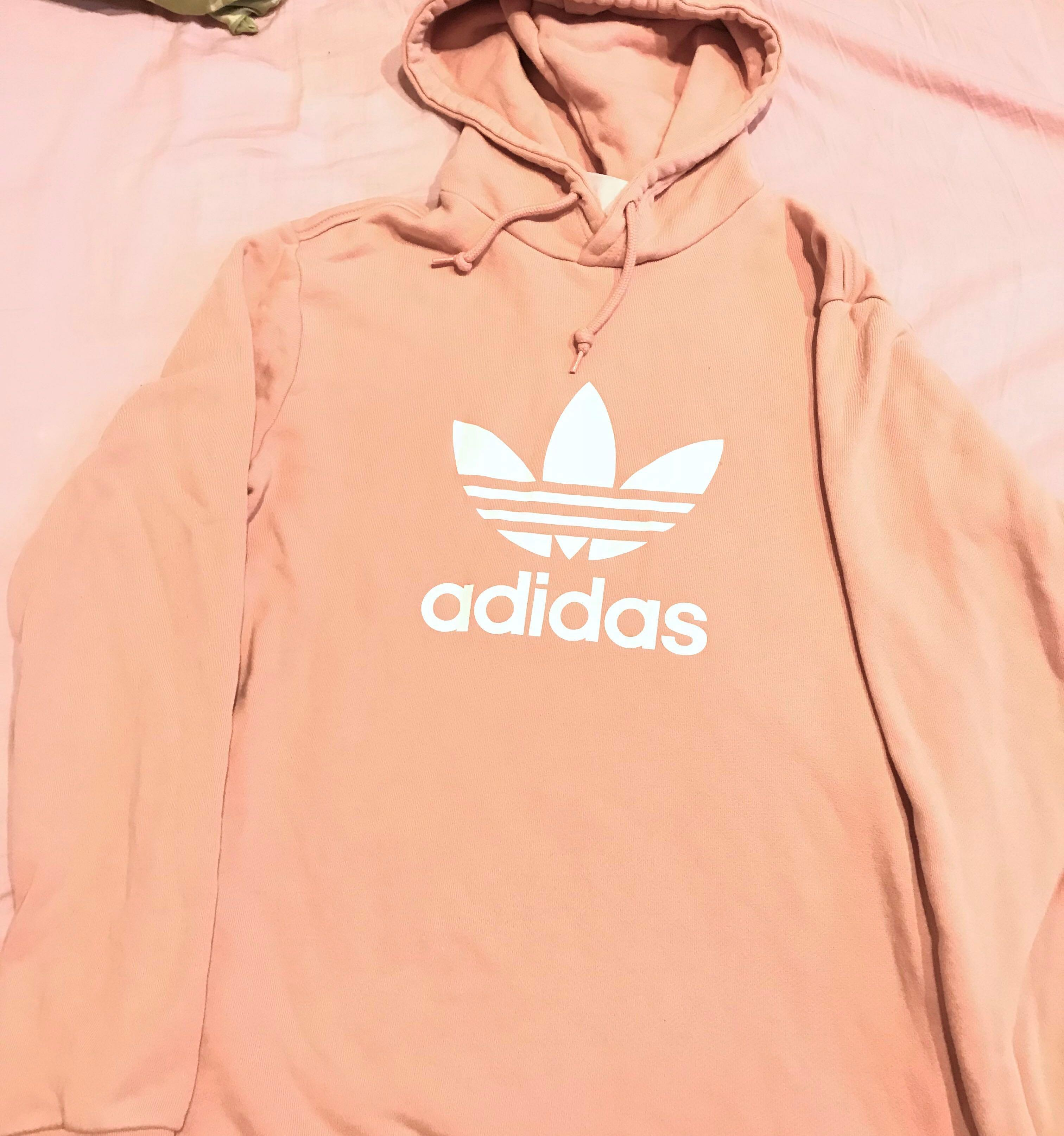 adidas Originals hoodie adicolor in Pink (size Small)