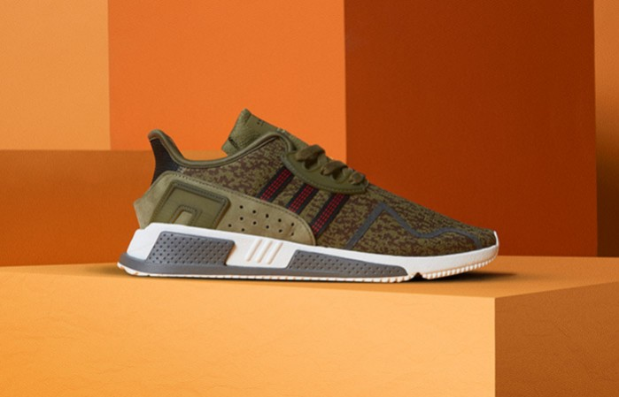 best cheap 11947 8f582 Adidas x Size EQT Cushion ADV - Olive Cargo - UK11 (AC7722), Mens  Fashion, Footwear, Sneakers on Carousell