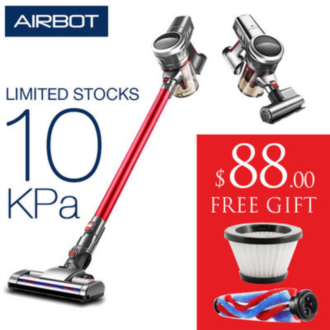 Airbot Supersonics Fluffy Cordless Vacuum Cleaner Handheld For Floor