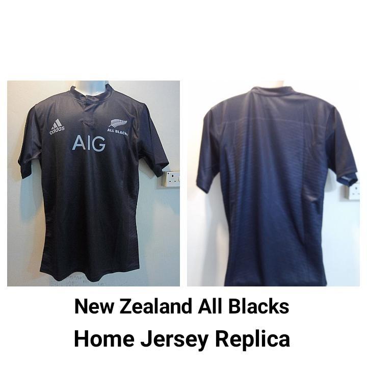 pretty nice 12b9f a7b04 All Blacks Replica Rugby Jersey