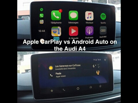 Apple Carplay Android Auto Mirroring For Audi