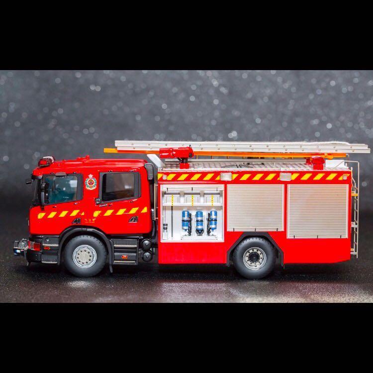 Aurora Model) Hong Kong Fire Service Scania Major Pump