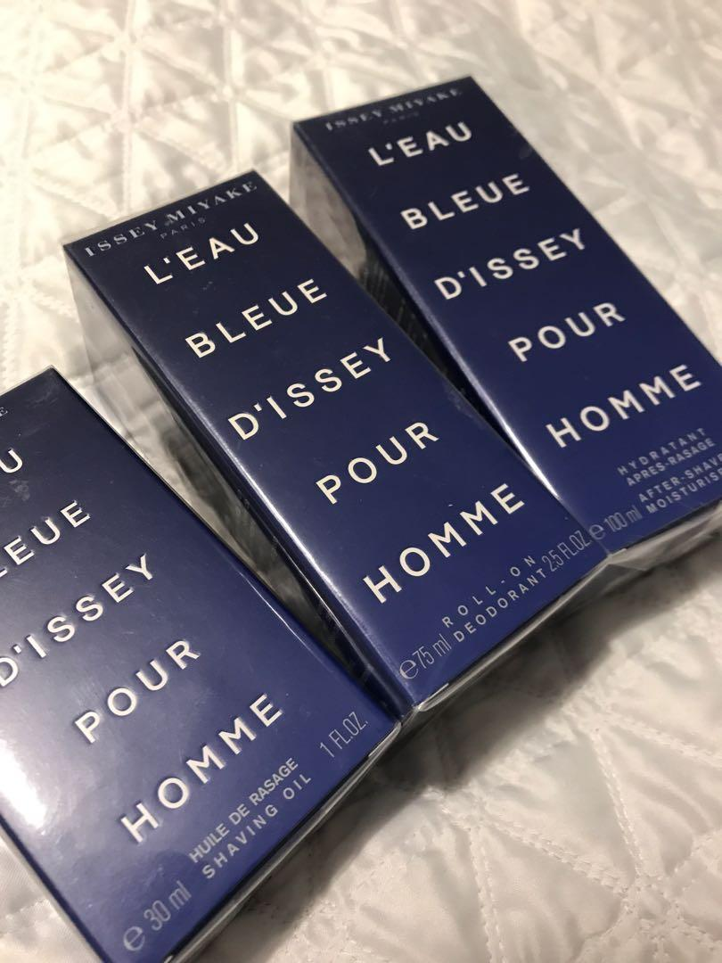BNIB Issey Miyake L'Eau Bleue D'Issey Pour Homme Products