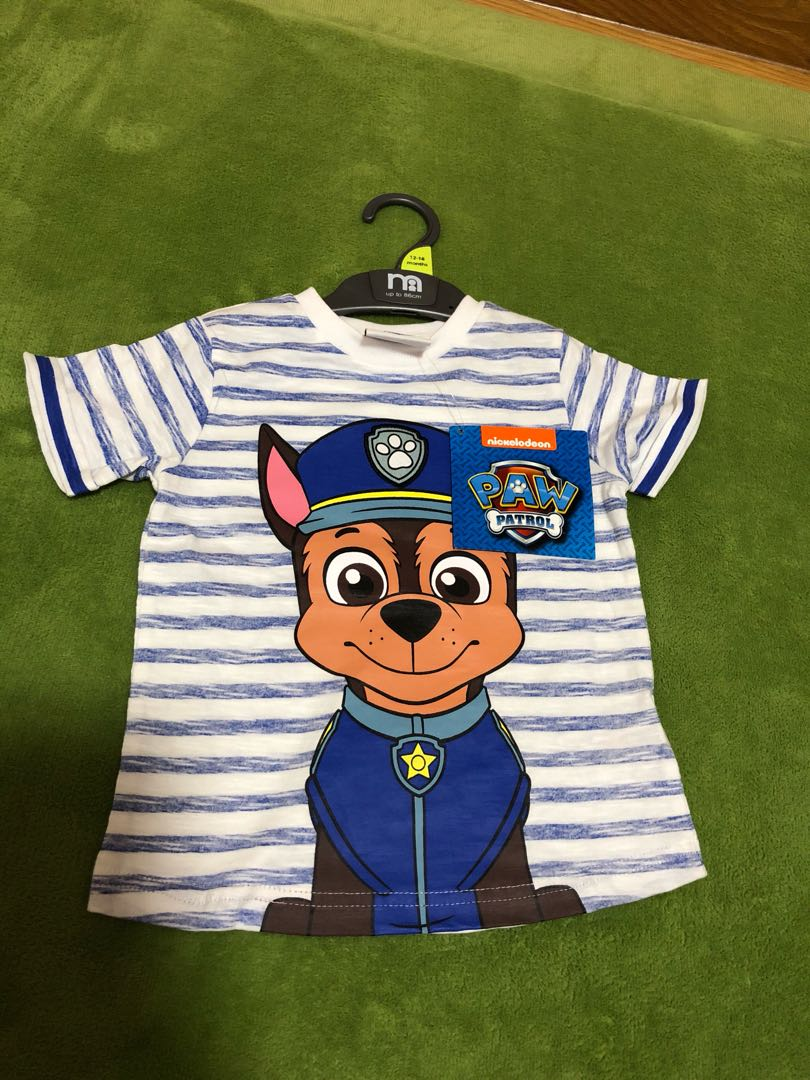 9a9fbbb99aa2a Brand new BN paw patrol chase top tee