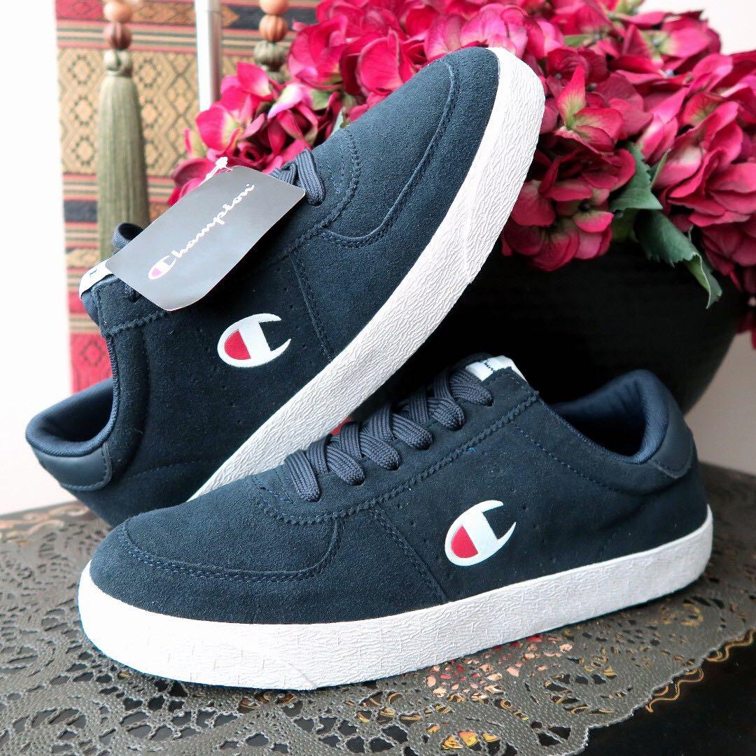 8ae2ce055 Champion Navy Sports Memory Foam Logo Sneakers