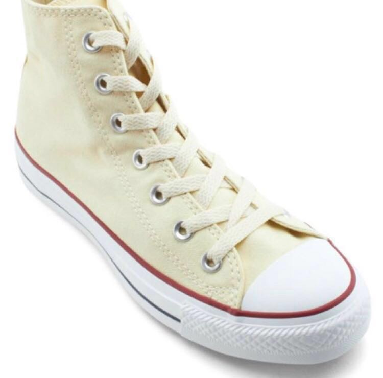 0cdf1f4f7dcb Chuck Taylor All Star Canvas High Cut Unisex Sneakers Cream Converse ...