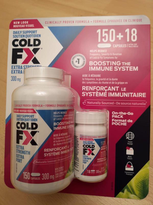 加拿大🇨🇦Cold Fx 抗感冒配方