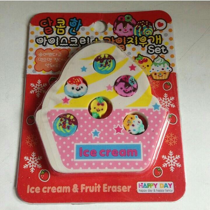 cute rubbers / erasers