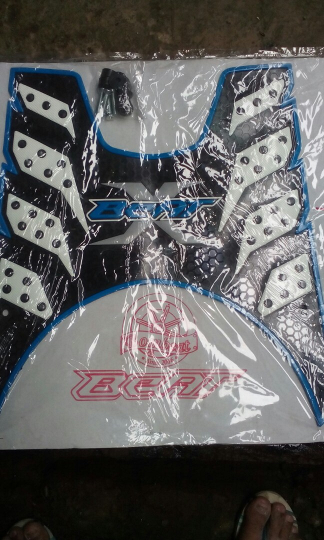 For Sale Brand New Rubber Matting Honda Beat Fi Color Blue White Motorbikes On Carousell