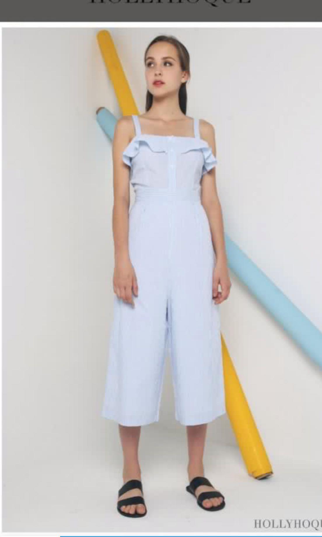 d1f1481dc01 Hollyhoque trixie stripe jumpsuit