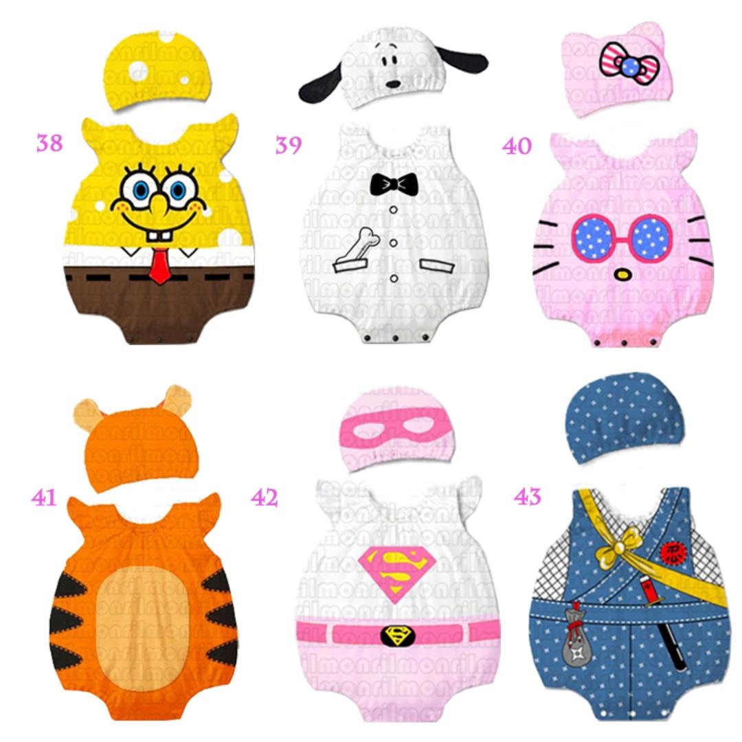 47d20e44e Instocks NEW Designs Super Cute Baby Hat + Romper 2pcs Outfit Set ...