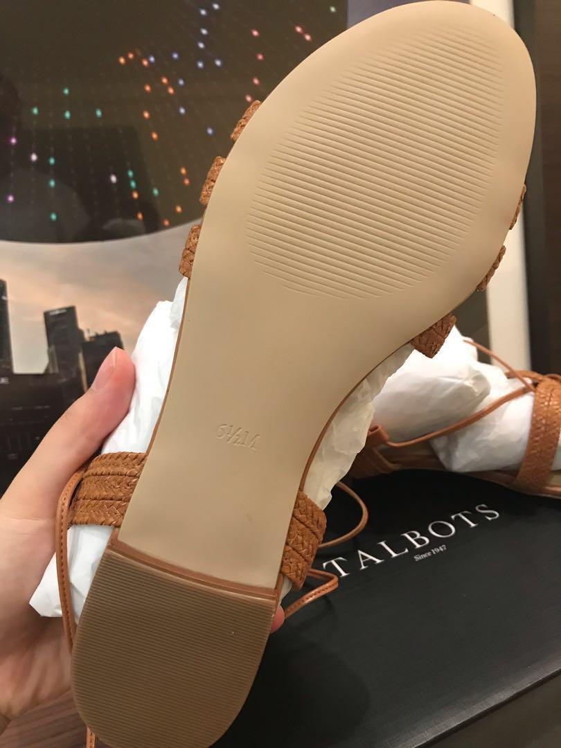 109d9d944710 Keri Braided Lace-Up Sandals