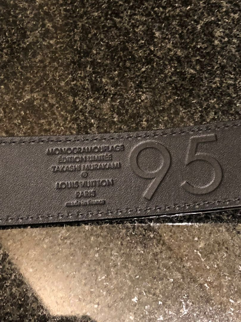 de38f7ecba19 Louis Vuitton Monogramouflage Belt ULTRA RARE Like New