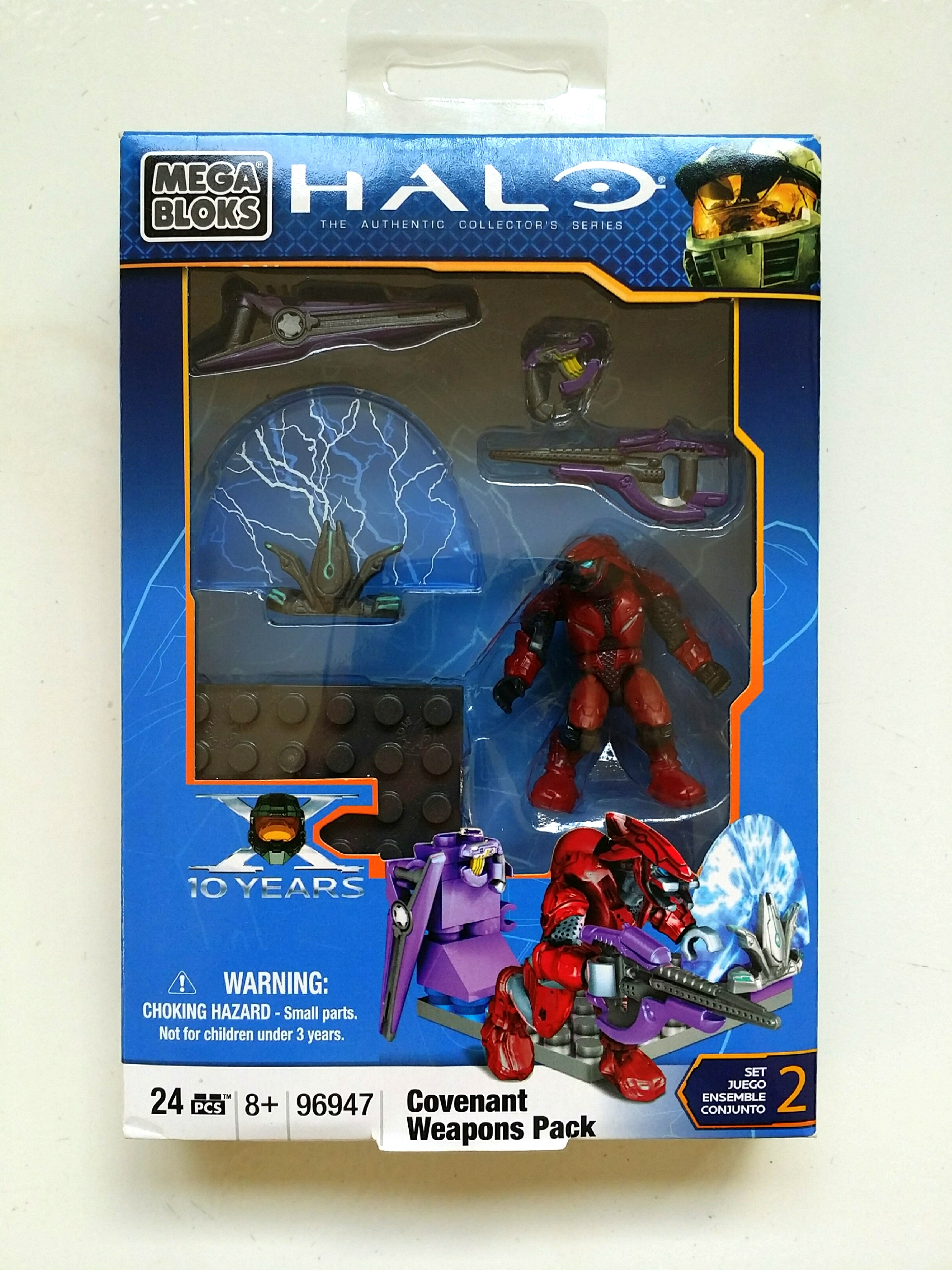 Top Five Halo Mega Bloks Covenant Figures - Circus