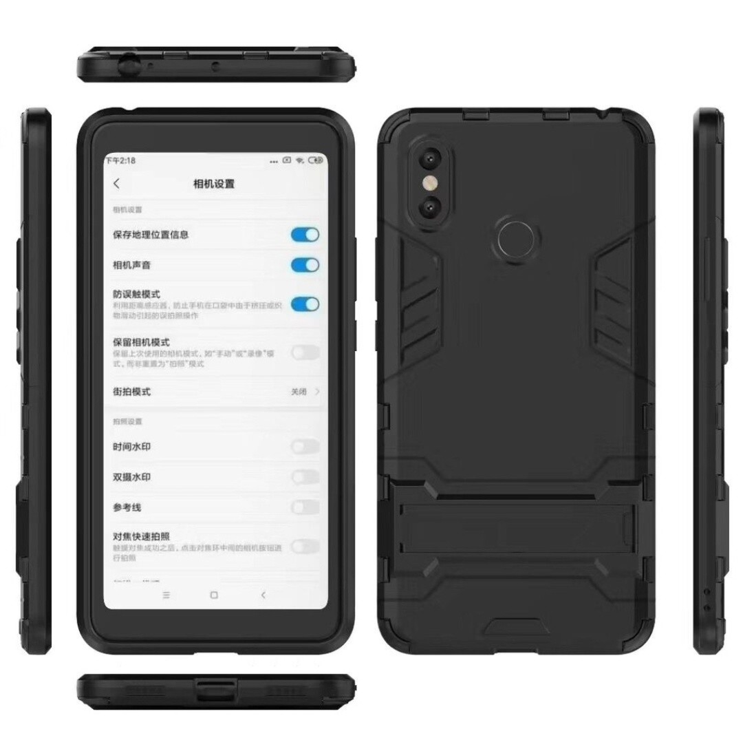 new concept 14614 aa504 Mi Max 3 Hard Armor Shock Proof Case