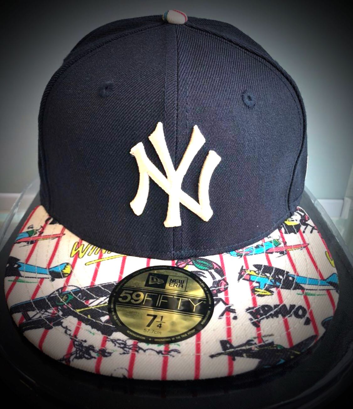 best service 383cb 66ecf New Era 59FIFTY New York Yankee vintage look SIZE 7 1 4 ...
