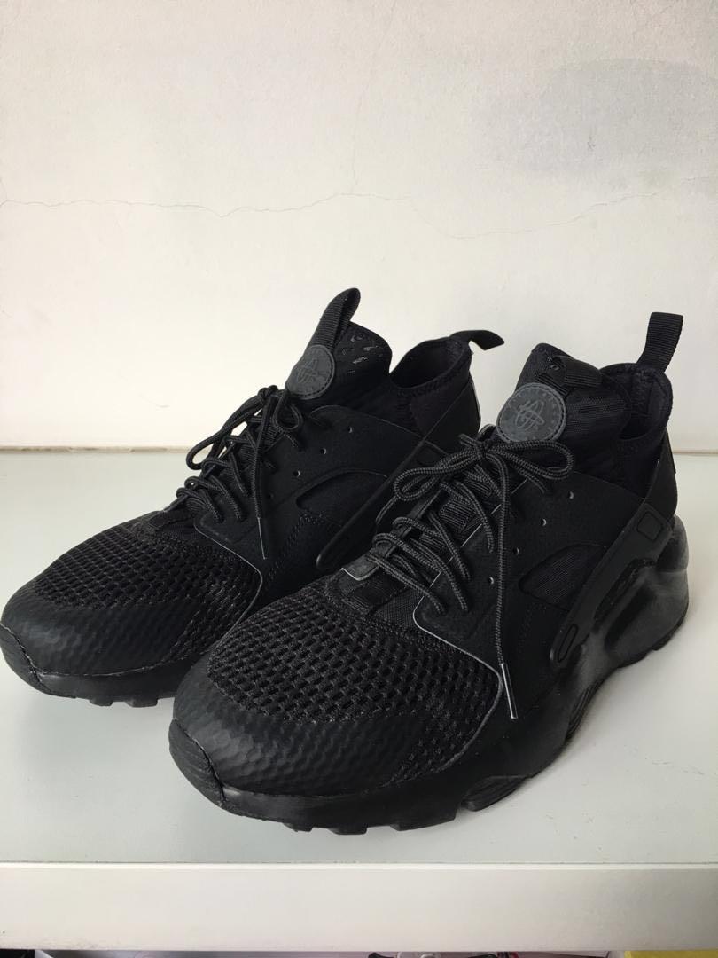 Breath Air Ultra Triple Nike Huarache Black j534ARLq