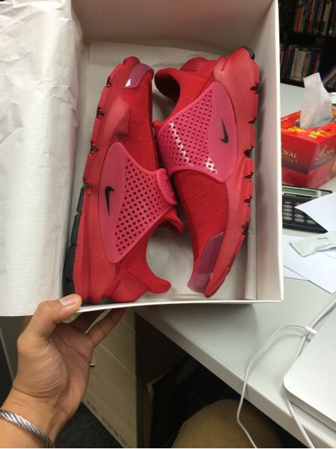 hot sale online e7a0d 8b763 Nike Sock Dart- Red Independence Day, Men s Fashion, Footwear, Sneakers on  Carousell