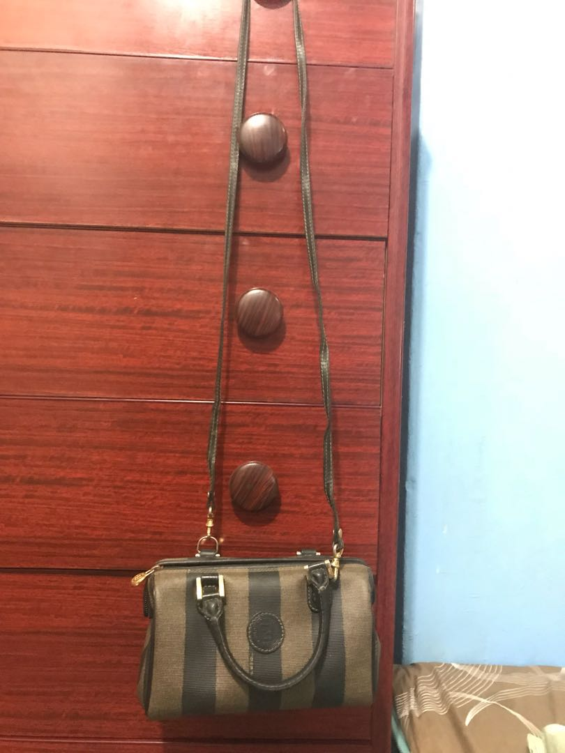 bacc62b1bd2c ... switzerland original fendi limited edition sling handy bag japan po  galing. pre loved second hand