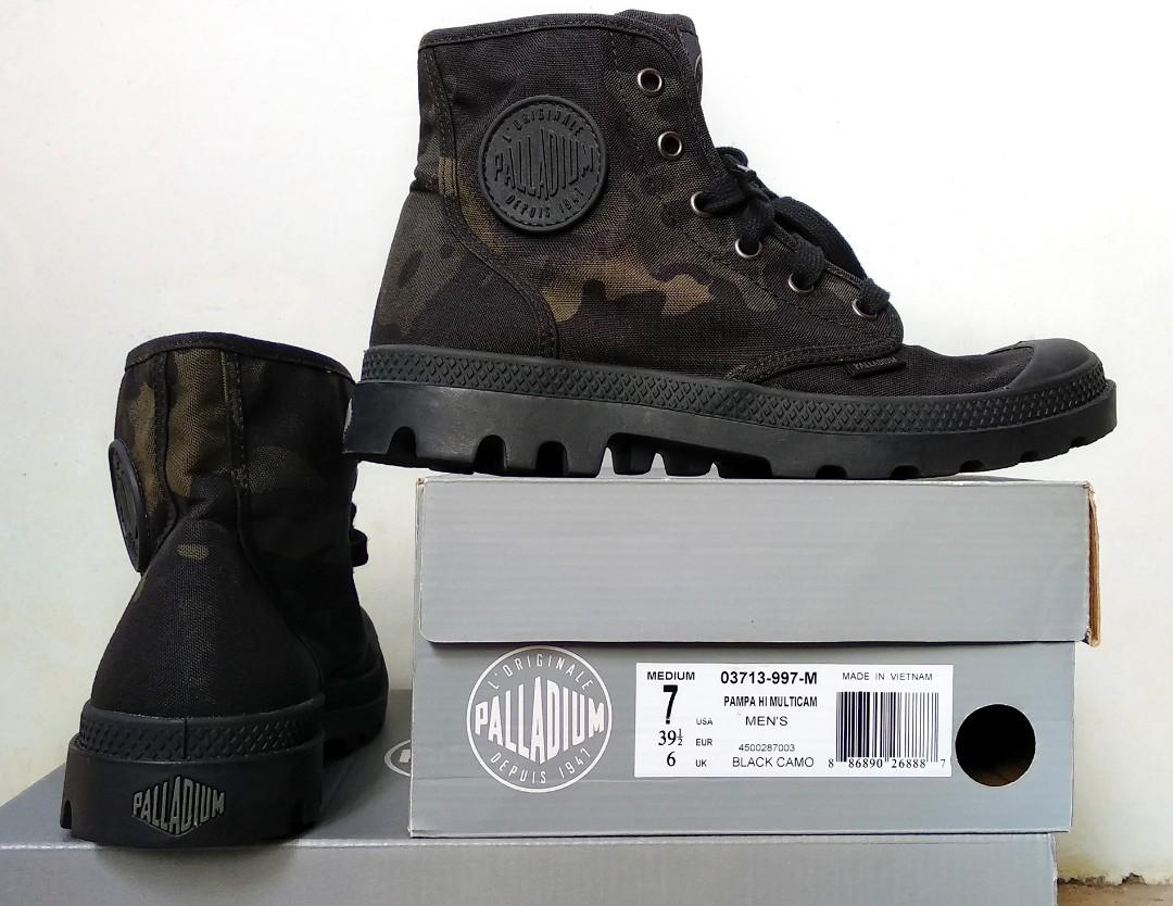 wholesale dealer dce7d 3a40e Palladium Boots Pampa Hi Multicam, Men s Fashion, Men s Footwear ...