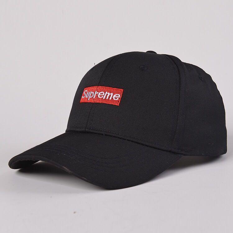 f42bdba14e361c Supreme Unisex Baseball Cap(Available Two Colour), Men's Fashion ...