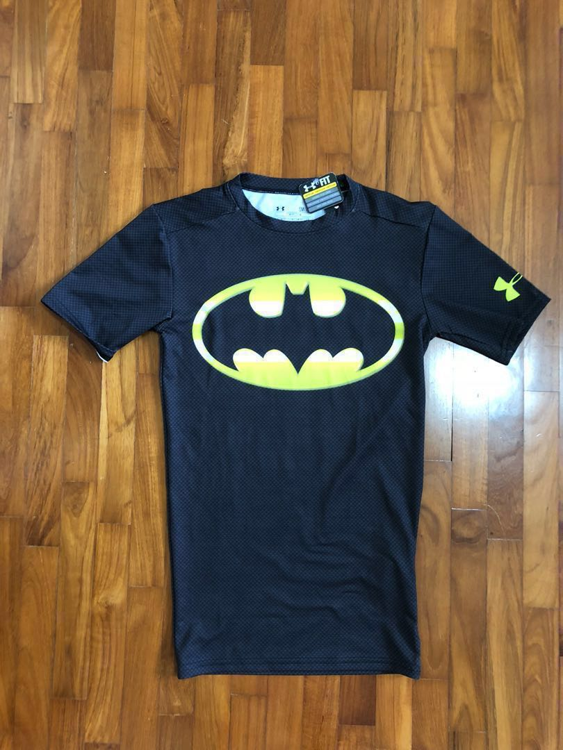 Design Compression Shirts | Under Armour Compression Shirt Batman Design Babies Kids Boys