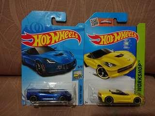 hotwheels 14 Corvette Stingray