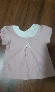 Trudy & Teddy blouse 6 to 12m