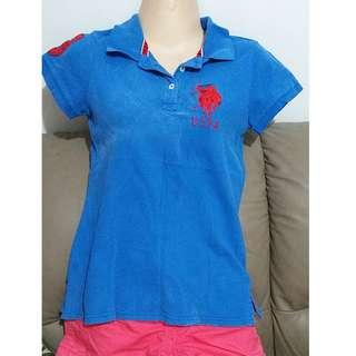 Blue Polo Shirt (Authentic)