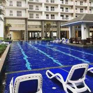 Lumiere Residences RFO 2BR for sale in Pasig City facing pool area