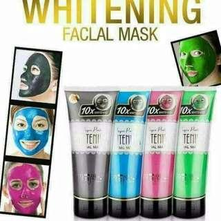 High quality collagen protein whitening face mask