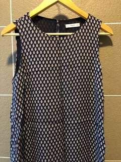 MNG shift dress