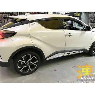 Toyota C-HR LED Side Garnish