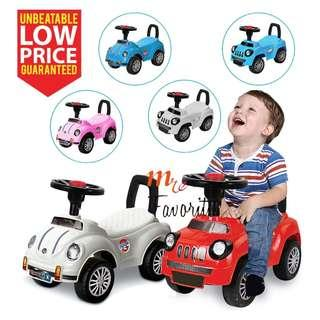 Toddler Baby Walker Ride On / Push Car Educational Toys