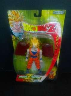 "Jakks Pacific Dragon Ball Battle Damaged goku striking fighters 5"" inch action figure 龍珠"