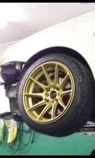 """Xxr 16""""rims only /swap 16""""working condition"""