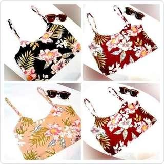 3 for 180 only FLORAL CROP TOP