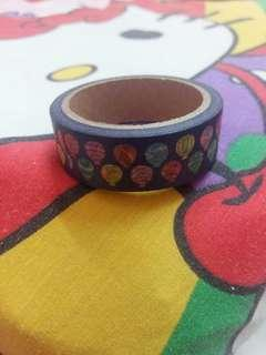 Japanese themed washi tape roll